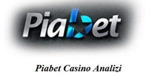 Piabet Casino analizi