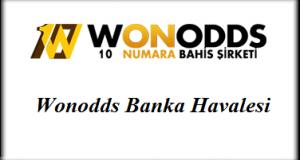 Wonodds Banka Havalesi